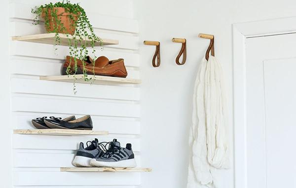 kệ treo và kệ giày tiết kiệm không gian