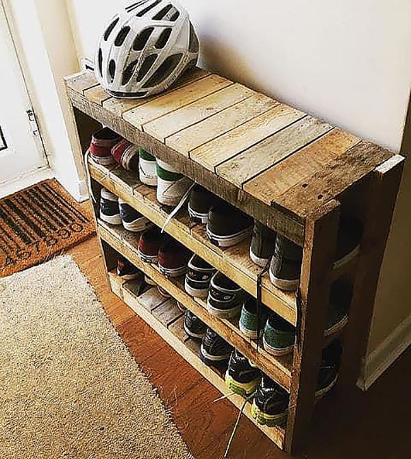 Giá để giày nhiều ngăn cho gia đình đông người